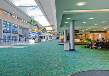 """Carpet makes the Concourse"""